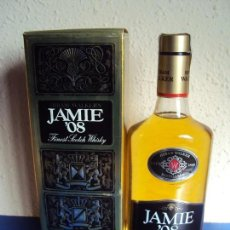 Coleccionismo de vinos y licores: (LI-190403)BOTELLA WHISKY JAMIE ´08 SCOTLAND - CAJA - PRECINTADA. Lote 158218894