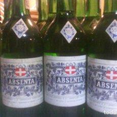 Coleccionismo de vinos y licores: ABSENTA 55º - MONTAÑA - GRANOLLERS - 10 BOTELLAS .. Lote 161234106