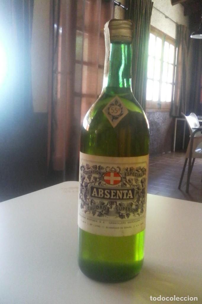 Coleccionismo de vinos y licores: ABSENTA 55º - MONTAÑA - GRANOLLERS - 10 BOTELLAS . - Foto 5 - 161234106