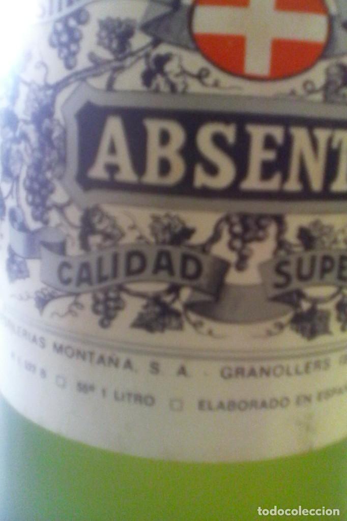 Coleccionismo de vinos y licores: ABSENTA 55º - MONTAÑA - GRANOLLERS - 10 BOTELLAS . - Foto 7 - 161234106