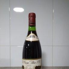 Coleccionismo de vinos y licores: VIÑA ARDANZA CRIANZA 1973. BODEGAS. LA RIOJA ALTA. HARO. BOTELLA DE VINO.. Lote 161415909