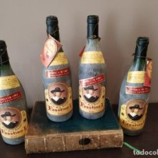 Coleccionismo de vinos y licores: FAUSTINO I - LOTE 4 BOTELLAS - RIOJA TINTO GRAN RESERVA - COSECHA 1976 - MEDALLA DE ORO. Lote 161552790