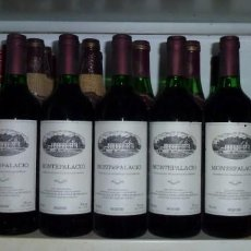 Coleccionismo de vinos y licores: 12 BOTELLAS DE VINO MONTEPALACIO.. Lote 162313074