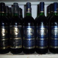 Coleccionismo de vinos y licores: 5 BOTELLAS DE VINO COVASYERMAS.COSECHA 1992.1995.. Lote 162313902
