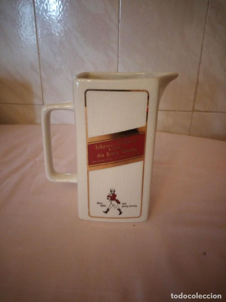 JOHNNIE WALKER RED LABEL ,JARRA DE PORCELANA SETON POTTERY (Coleccionismo - Botellas y Bebidas - Vinos, Licores y Aguardientes)