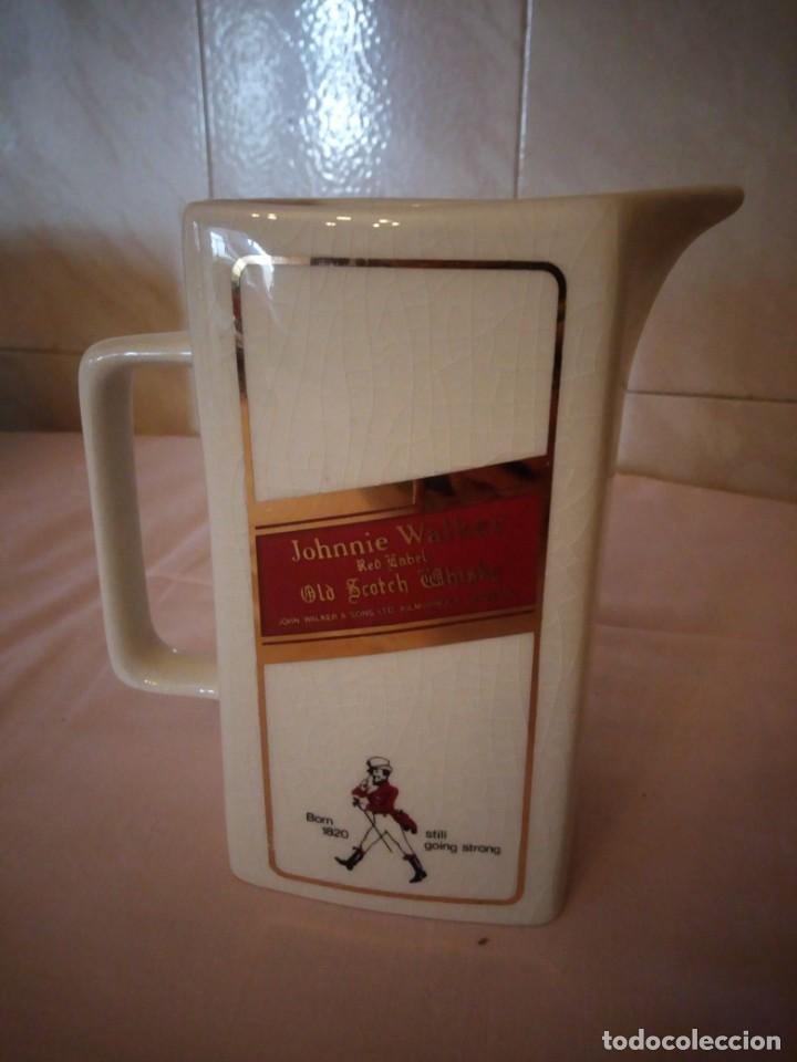 Coleccionismo de vinos y licores: Johnnie walker red label ,jarra de porcelana seton pottery - Foto 3 - 163083182