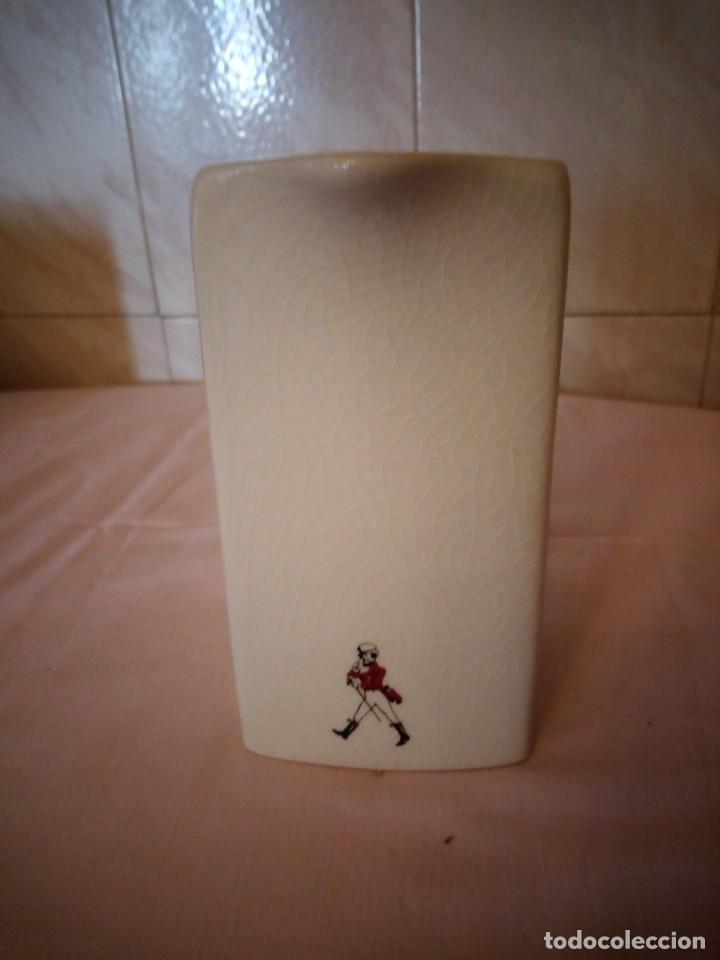 Coleccionismo de vinos y licores: Johnnie walker red label ,jarra de porcelana seton pottery - Foto 4 - 163083182