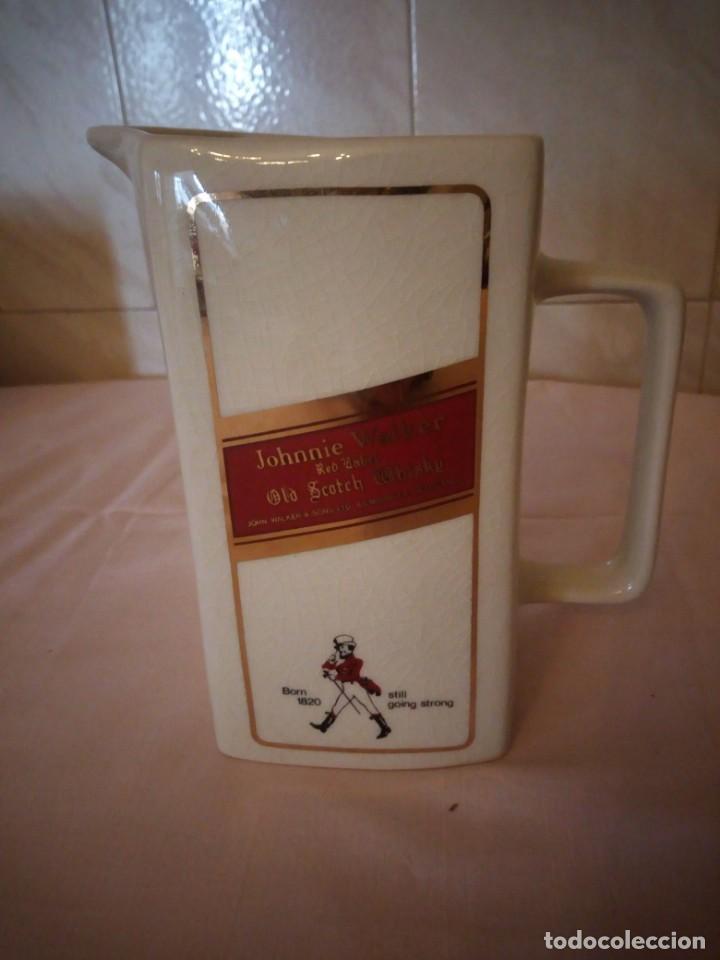 Coleccionismo de vinos y licores: Johnnie walker red label ,jarra de porcelana seton pottery - Foto 5 - 163083182
