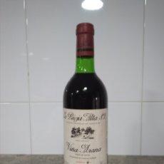 Coleccionismo de vinos y licores: VIÑA ARANA SEXTO AÑO. COSECHA 1973. RIOJA. BOTELLA VINO.. Lote 163605133