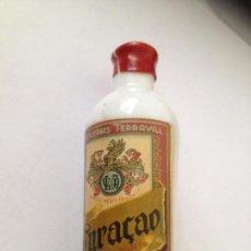 Coleccionismo de vinos y licores: CURACAO-DESTILERIAS TERRAVILL VALENCIA. Lote 163734494