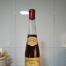 Coleccionismo de vinos y licores: RIOJA. BORISA COSECHA 1971. BODEGAS RIOJANAS. BOTELLA DE VINO.. Lote 253626280