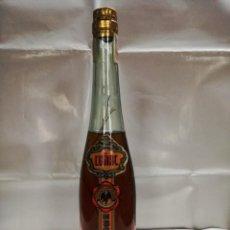 Coleccionismo de vinos y licores: ANTIGUA BOTELLA COÑAC ESCARCHADO. ANTONIO NADAL.BUÑOLA MALLORCA. Lote 164209974