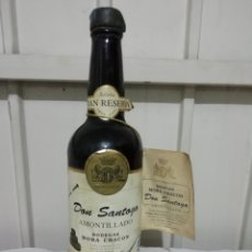 Coleccionismo de vinos y licores: VINO GRAN RESERVA DON SANTOGO AMONTILLADO. Lote 164884069