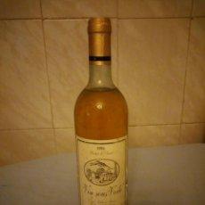 Coleccionismo de vinos y licores: BOTELLA DE VINO BLANCO VIN SOUS VOILE 1984. Lote 165123190