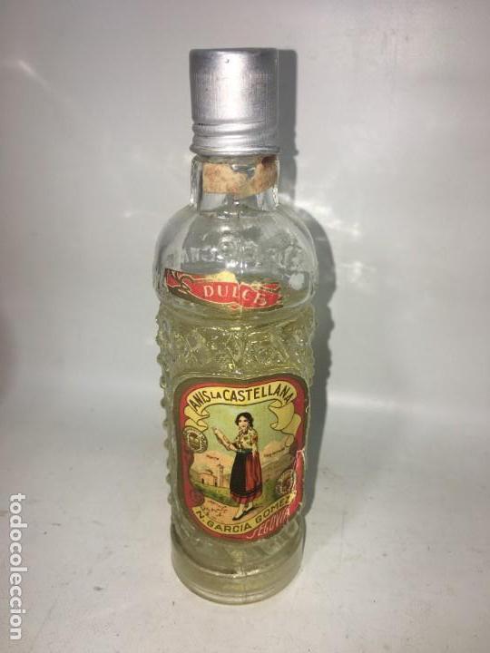 ANTIGUA BOTELLITA BOTELLA AÑIS (Coleccionismo - Botellas y Bebidas - Vinos, Licores y Aguardientes)
