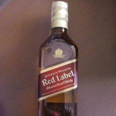 Coleccionismo de vinos y licores: BOTELLA RED LABEL JOHNNIE WALKER. Lote 165311009