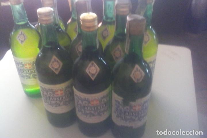 Coleccionismo de vinos y licores: ABSENTA 55º - MONTAÑA - GRANOLLERS - 10 BOTELLAS . - Foto 11 - 161234106