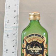 Coleccionismo de vinos y licores: BOTELLITA BOTELLIN GLENFIDDICH PURE MALT SCOTCH WHISKY 8 YEARS SCOTLAND. Lote 165606726