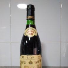 Coleccionismo de vinos y licores: MONTE REAL RESERVA 1987. BODEGAS RIOJANAS CENICERO. BOTELLA VINO RIOJA. Lote 165818416