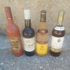Coleccionismo de vinos y licores: LOTE DE 4 BOTELLAS DE VINO. Lote 166539614