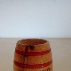 Coleccionismo de vinos y licores: PALILLERO ANTIGUO DE MADERA VINOS Y LICORES LOS ANGELES SEBASTIAN MAROTO PEÑARROYA-PUEBLONUEVO. Lote 98797931