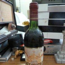 Coleccionismo de vinos y licores: BOTELLA VINO TINTO PESQUERA RIBERA DEL DUERO CRIANZA COSECHA 1996 NUMERADA PRECINTADA. Lote 167138968