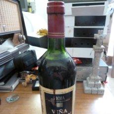 Coleccionismo de vinos y licores: BOTELLA DE VINO RIOJA VIÑA GARTEN COSECHA DE 1991 PRECINTADA. Lote 167141872