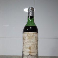 Coleccionismo de vinos y licores: MARQUÉS DE RISCAL 1967. BOTELLA DE VINO. RIOJA. Lote 167477269