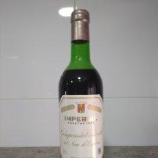 Coleccionismo de vinos y licores: BOTELLA VINO DE RIOJA.IMPERIAL CVNE 1970. HARO. CUNE.. Lote 167574354