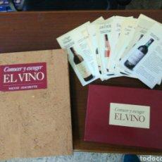 Coleccionismo de vinos y licores: COLECCION CONOCER EL VINO. Lote 167760444