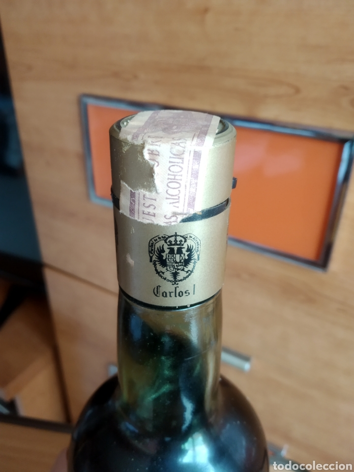 Coleccionismo de vinos y licores: Carlos I Brandy Solera Especial - Foto 2 - 167847778