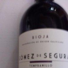 Coleccionismo de vinos y licores: BOTELLA DE VINO DE LA RIOJA EN SU CAJA ORIGINAL. Lote 167880172