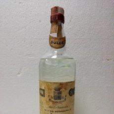 Coleccionismo de vinos y licores: BOTELLA ANIS CHINCHON LA CHINCHONESA AÑOS 70-PRECINTADA. Lote 168008172