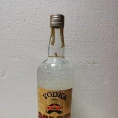 Coleccionismo de vinos y licores: BOTELLA VODKA MIST AÑOS 70-PRECINTADA. Lote 168008260