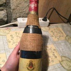 Coleccionismo de vinos y licores: ANTIGUA BOTELLA DE VINO DE RIOJA DE LA MARCA SIGLO BODEGAS UNIDAS S.A. SIN ESTRENAR AÑO 1962. Lote 168124552