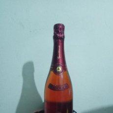 Coleccionismo de vinos y licores: BOTELLA CAVA CASTELLBLANCH ROSADO TAPON SIN ABRIR PRECINTO VINO ALCOHOL LICORES FIESTA NAVIDAD 75 . Lote 168239944