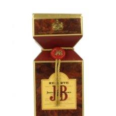 Coleccionismo de vinos y licores: 1 BOTELLA DE WHISKY J&B RESERVE 15 YEARS - BLENDED 70 CL. 43% AÑOS 90. SIN ABRIR; CON CAJA.. Lote 168375628