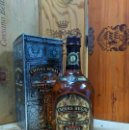 Coleccionismo de vinos y licores: WHISKY CHIVAS REGAL 12 YO SCOTCH + BOX. Lote 168446824