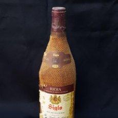 Coleccionismo de vinos y licores: BOTELLA DE VINO RIOJA SIGLO RESERVA 1976. Lote 168583008