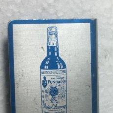 Coleccionismo de vinos y licores: DOMECH PROTECTOR CAJA CERILLA DE ALUMINIO ORIGINAL ANTIGUO RV150. Lote 168695200