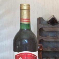 Coleccionismo de vinos y licores: ZAMBRA JUMILLA, EMBOTELLADO 4 AÑO DE CRIANZA . Lote 169049564