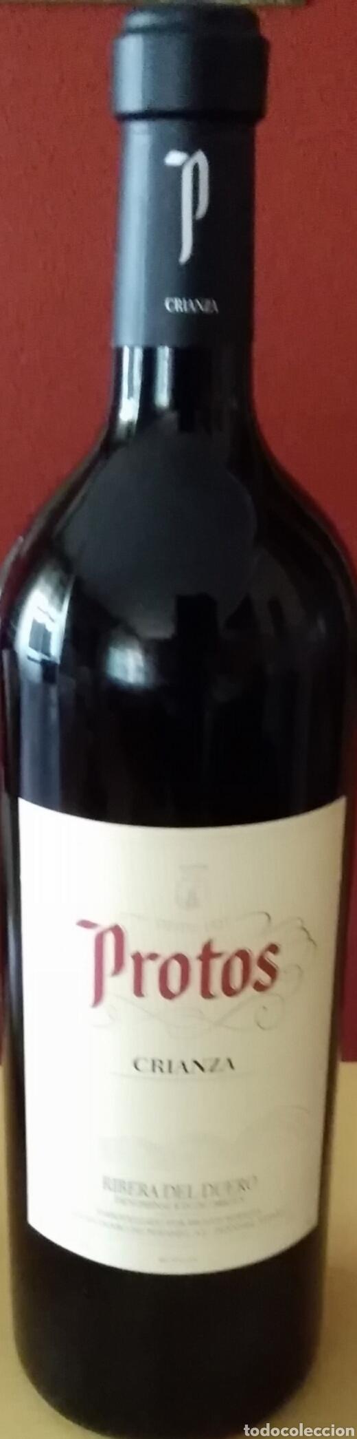 BOTELLA DE PROTOS CRIANZA MAGNUM 3 LITROS,( DECORATIVA) (Coleccionismo - Botellas y Bebidas - Vinos, Licores y Aguardientes)