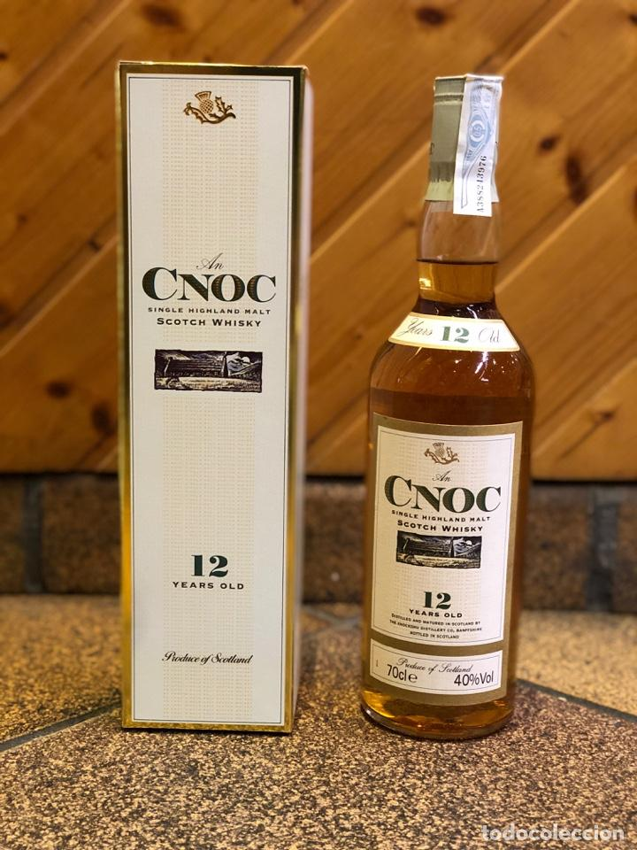 WHISKY - AN CNOC SINGLE MALT SCOTCH WHISKY 12 AÑOS (Coleccionismo - Botellas y Bebidas - Vinos, Licores y Aguardientes)