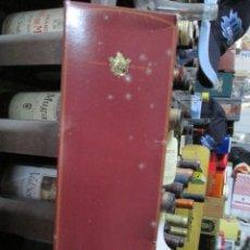Coleccionismo de vinos y licores: ANTIGUA CAJA VACIA BRANDY COÑAC, PEINADO. Lote 170852240