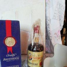 Coleccionismo de vinos y licores: BRANDY INDEPENDÈNCIA, OSBORNE, 4 PTS. Lote 171356595