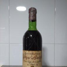 Coleccionismo de vinos y licores: CAMPO BURGO. RIOJA 1964. BOTELLA DE VINO TINTO.. Lote 171359090
