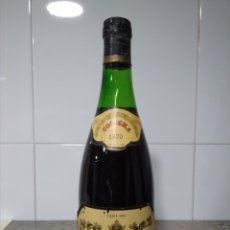 Coleccionismo de vinos y licores: MONTE REAL 1970. BOTELLA VINO RIOJA. BODEGAS RIOJANAS.. Lote 171360512