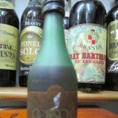 Coleccionismo de vinos y licores: ANTIGUO BOTELLIN BRANDY COÑAC,BRANDY COITISOLO. Lote 172402703