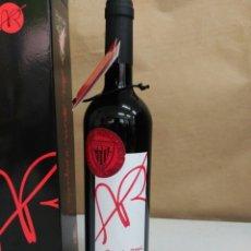 Coleccionismo de vinos y licores: BOTELLA AÑADA REAL 2007 FINAL DE COPA 2012. Lote 172729335