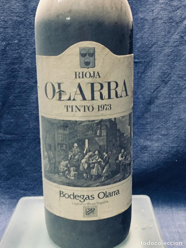 Coleccionismo de vinos y licores: BOTELLA RIOJA OLARRA TINTO - Foto 2 - 173080987
